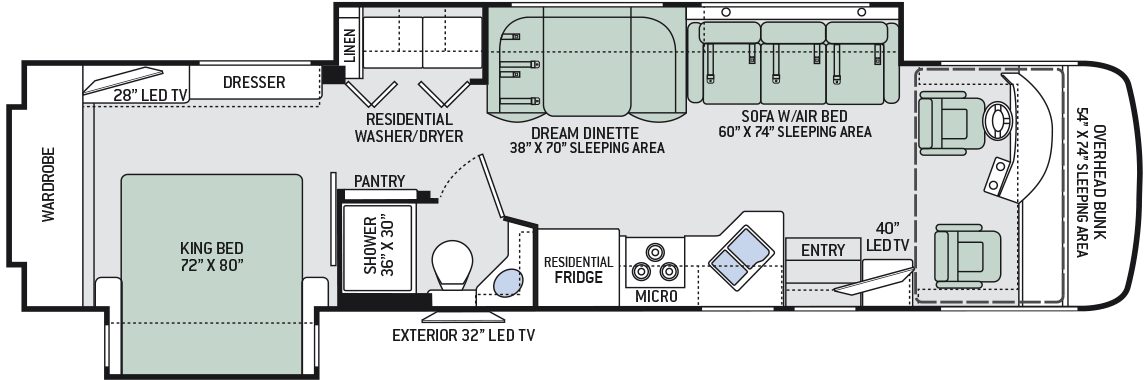 Thor Class A Rv Floor Plans Floor Plan Ideas