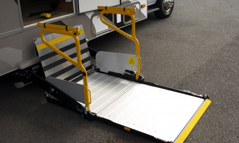 Wheelchair accessible rv 39 s signature motorhomes Wheelchair lift motor